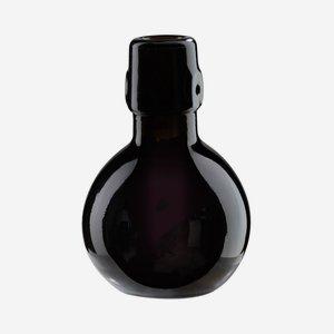 Palla üveg,100 ml, antikzöld, szájforma: csatos
