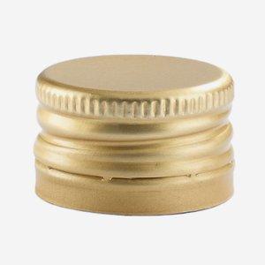 Csavarzár,méret: 24 mm,arany szín