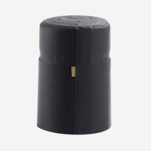 Zsugorkapszula, méret:25x40mm,fekete