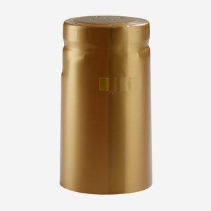 Zsugorkapszula, méret:31x60mm,matt arany