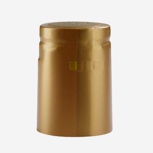 Zsugorkapszula,méret: 31mm x 42mm,arany