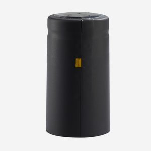 Zsugorkapszula, méret:31mm x 60 mm,fekete(matt)