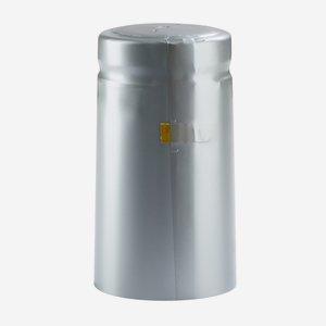 Zsugorkapszula,méret: 31mm x 60 mm,ezüst