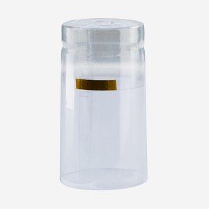 Zsugorkapszula,méret: 31mm x 60 mm,átlátszó