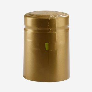 Zsugorkapszula,méret: 32,8mm x 50 mm,arany(matt)