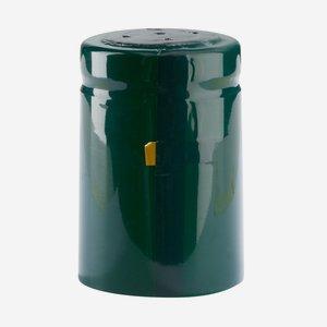 Zsugorkapszula,méret:32,8mm x 50 mm,sötétzöld