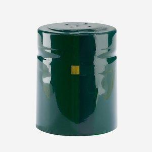 Zsugorkapszula,méret: 37mm x 45 mm,zöld