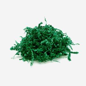 Töltoanyag zöld színben