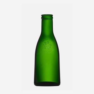 Olajos üveg,250 ml,zöld,szájforma:rical csavar