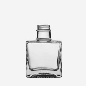 Taurus üveg,200 ml,áttetszö, szájkiképzés GPI 28