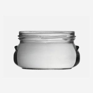 Terinnen üveg,228 ml, fehér, száj:TO82
