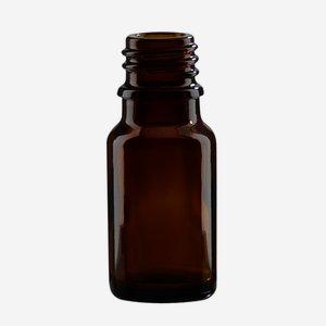Cseppentos tégely,barna,10 ml,szájforma GL-18