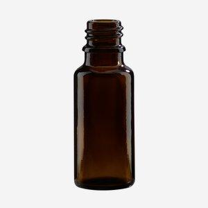 Cseppentos tégely,barna,20 ml,szájforma GL-18