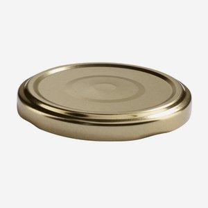 TWIST-OFF lapka,átméro: 66 mm,arany színu