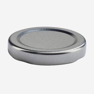 TWIST-OFF lapka, PVC mentes, ø48 mm,szín:ezüst