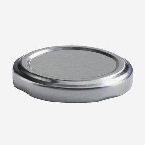 TWIST-OFF lapka, PVC mentes, ø53 mm,szín:ezüst