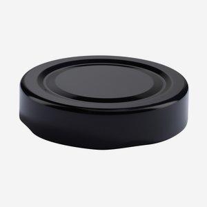 TWIST-OFF lapka, PVC mentes, ø58 mm,szín:fekete