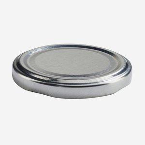 TWIST-OFF lapka, PVC mentes, ø63 mm,szín:ezüst