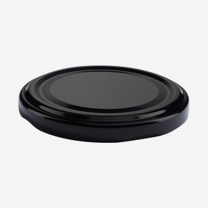 TWIST-OFF lapka, PVC mentes, ø66 mm,szín:fekete