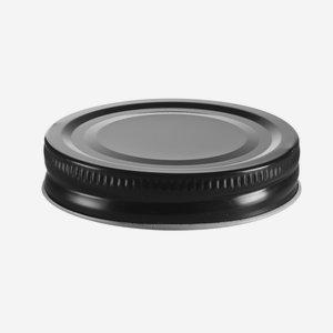 Twister lapka, ø70mm, fekete