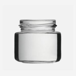 Konzerves üveg,108 ml,átlátszó,szájforma:TO53