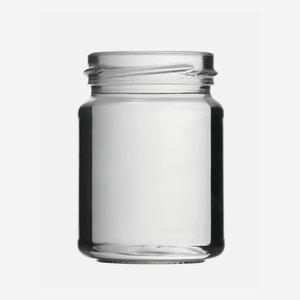 Konzerves üveg,143 ml,átlátszó,szájforma:TO53