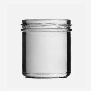 Konzerves üveg,167 ml,átlátszó,szájforma:TO66