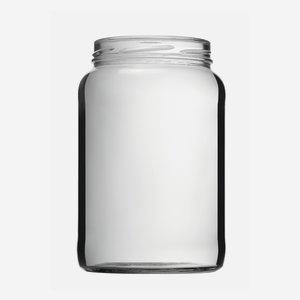 Konzerves üveg,1700 ml,átlátszó,szájforma:TO100
