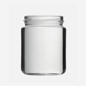 Konzerves üveg,275 ml,átlátszó,szájforma:TO66