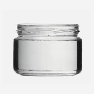 Konzerves üveg,282 ml,átlátszó,szájforma:TO82