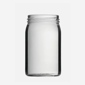Konzerves üveg,314 ml,átlátszó,szájforma:TO63