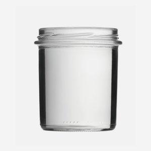 Konzerves üveg,350 ml,átlátszó,szájforma:TO82