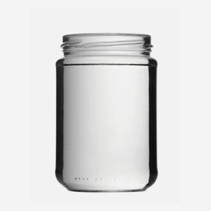 Konzerves üveg,390 ml,átlátszó,szájforma:TO70