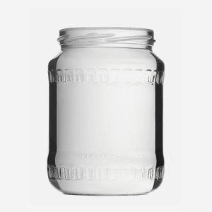 Konzerves üveg,720ml,átlátszó,szájforma:TO82