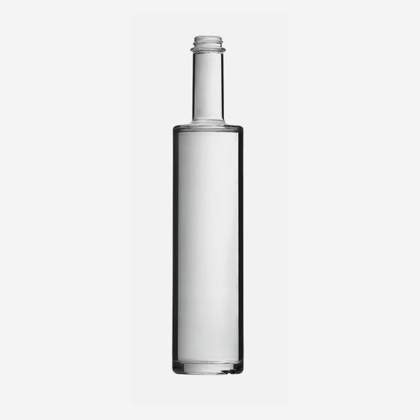 Bega üveg,500 ml,fehér,szájkiképzés GPI 28