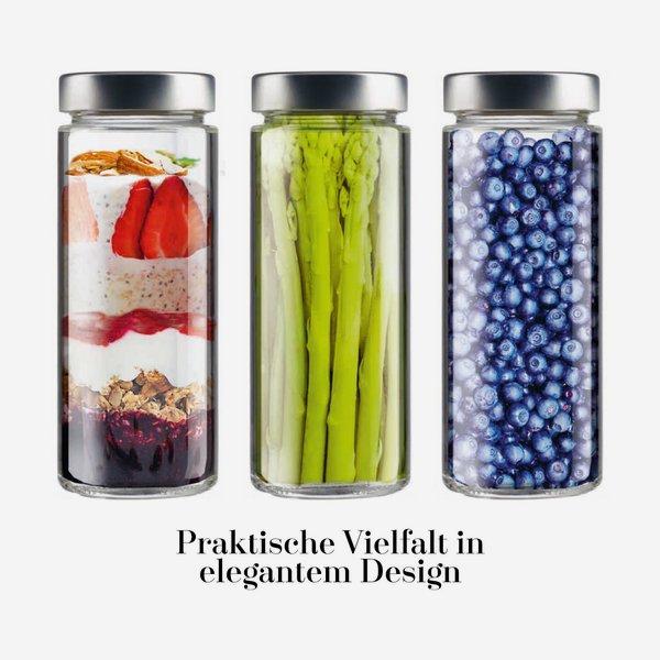 FACTUM üveg,380 ml,átlátszó,szájforma:TO58DE