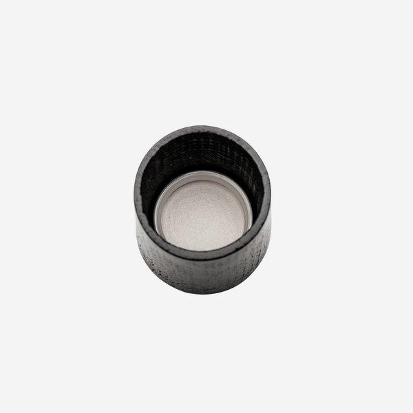 Exkluzív csavarzár,méret GPI 28,színe: fekete