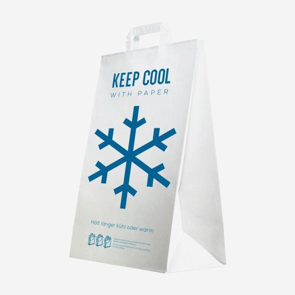 """Hutotáska """"KEEP COOL"""" papírból"""
