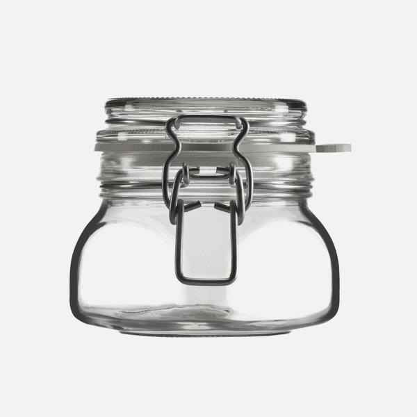 Csatos üveg,314 ml,átlátszó