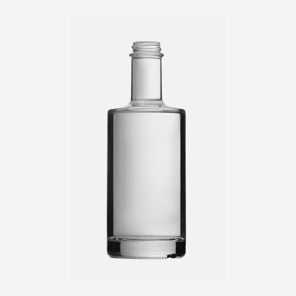 Viva üveg,350 ml,fehér, szájkiképzés GPI 28